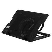 Охлаждающая подставка для ноутбука colerpad ergostand, 9-17 дюймов, вентилятор, подсветка, usb 2.0