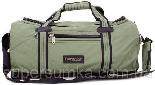 Сумка дорожная из полиэстера 45 л. Onepolar WA809-green