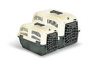 Переноска для собак и кошек.MPS Skudo №1 пластиковая (48х31,5х31h)