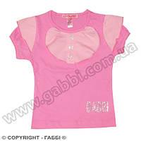 Детская футболка для девочки *Фонарики*