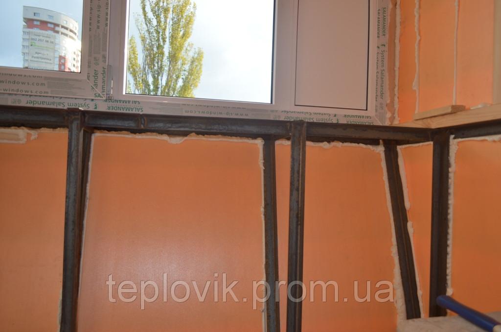 Фото утепление балкона.
