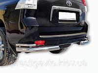 Защита заднего бампера Toyota Land Cruiser 150