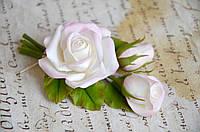 """Бутоньерка с розами """"Рассвет"""""""