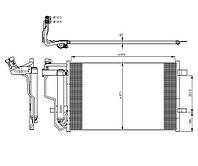 Радиатор кондиционера Mazda 3 09-