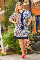 Платье женское большого размера 10