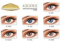 Цветные линзы Adore Bi-Ton 7 цветов