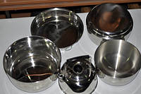 Набор посуды Voyager (нержавеющая сталь)