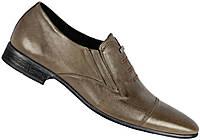 """Туфли мужские """"Strado"""". Оливковые. Натуральная кожа"""