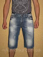 Джинсовые шорты мужские на лето