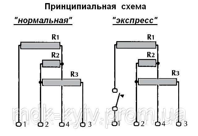Тэн для электроплит схема подключения