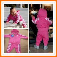 Детский брендовый спортивный костюм adidas, детские костюмы