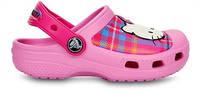 Crocs 14621 Hello Kitty Plaid