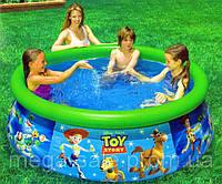 Детский надувной бассейн Toy Story история игрушек интекс Intex 183х51см