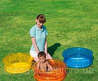 Детский надувной бассейн для малышей от 3 месяцев, Bestway 64х25см