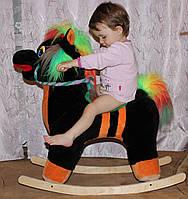 Мягкая игрушка-каталка - лошадка
