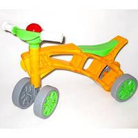"""Каталка велосипед без педалей """"Ролоцикл"""" (4 колеса)"""