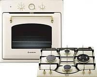 Комплект духовка-поверхность Hotpoint-Ariston FT 850.1 OW+PC 640 T(OW)R/HA