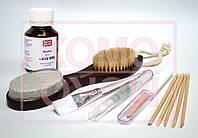 Биопедикюр.Набор для педикюра и маникюра: биогель 60мл, кисть, европемза, масло, полировщик 4в1, палочки.