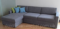 """Угловой диван """"Элегант"""" раскладной со спальным местом и бельевым ящиком"""