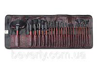 Набор профессиональных кистей для макияжа 24 шт Burgundy BH Cosmetics Оригинал. Последняя штука