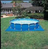 Каркасный бассейн Intex 28218 (366 х 99см.) Metal Frame Pool + Фильтрующий насос.