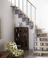 Лестница прямая Arke Komoda 89. Модульние лестницы Arke