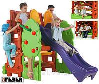 Детская игровая площадка, Активный центр с горкой, скамейкой и столом