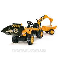 Детский трактор на педали