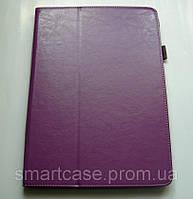 Premium кожаный фиолетовый чехол-книжка для Samsung Galaxy Note PRo 12.2 P900/P901/P905