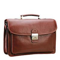 Мужской портфель из кожи Katana 31008 коричневый