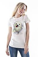 Забавная женская футболка с принтом 013-00036-003
