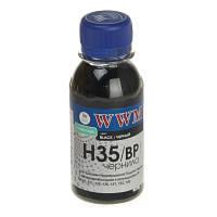 Чернила WWM для HP №21/129/121 100г Black Пигментные (H35/BP-2) для СНПЧ