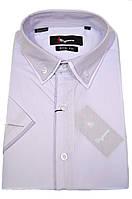 """Рубашка мужская """"Sigmen"""". Сиреневая. Короткий рукав"""