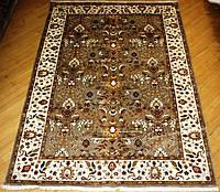 Иранский шелковый ковер ручной работы (Satya Premium)