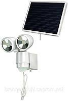 Прожектор светодиодный на солнечной батарее SOL 2x4 с датчиком движения