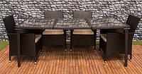 Садові меблі TECHNORATTAN Стіл+8 стільців +8подушок