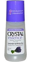 Роликовый дезодорант Crystal Essence с ароматом лаванды и белоого чая,Crystal Body Deodorant,66 мл