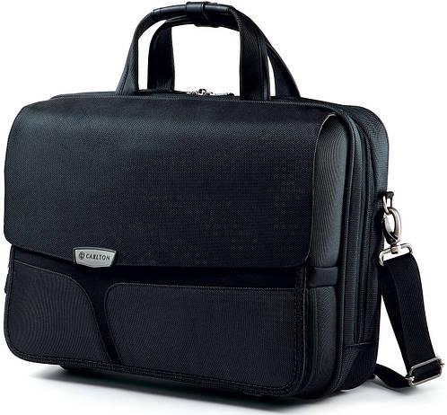 """Практичная сумка через плечо с отделением для ноутбука 15,4"""" CARLTON (Карлтон), 041J022;01 черный"""