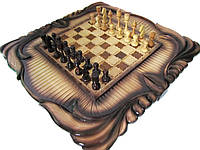 Резные,ручной работы шахматы-шашки-нарды