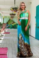 Длинное платье сарафан Шанди