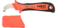 Нож монтерский с чехлом NEO (1000 В), 190 мм, NEO 01-551