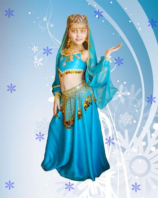 Новогодний костюм турецкой красавицы