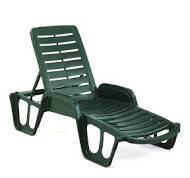 Лежак Fisso. Мебель пластиковая, садовая