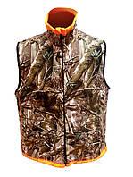 Жилет флисовый Norfin Hunting Reversable Vest Passion/ Orange