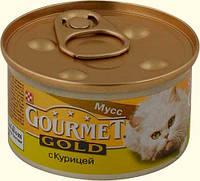 Gourmet Gold (Гурмет Голд), мусс из курицы (паштет), 85 гр.