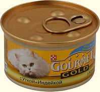 Gourmet Gold (Гурмет Голд), утка с индейкой, 85 гр.