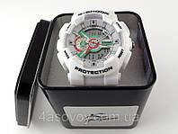 Спортивные часы G-Shock - белые в металлическом тубусе, водозащита 3Bar