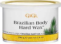 Твердый воск для бразильской эпиляции GIGI Brazilian Body Hard Wax, 396 г