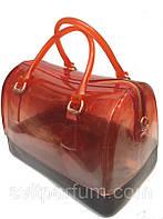Женская стильная силиконовая сумка, сезон лето 2014, красная сумка, женские сумочки