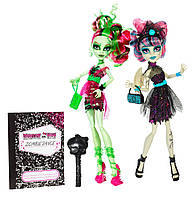 Monster High Zombie Shake Rochelle Goyle and Venus McFlytrap (Монстер Хай Рошель Гойл и Венера Танцы Зомби)